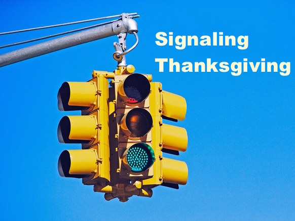 Signaling Thanksgiving