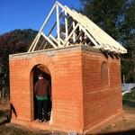 Test build on campus of FBC Jefferson, Georgia