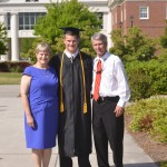 John surprised us by graduating with honors from UNCW.  I would have done a back flip if I had been able.