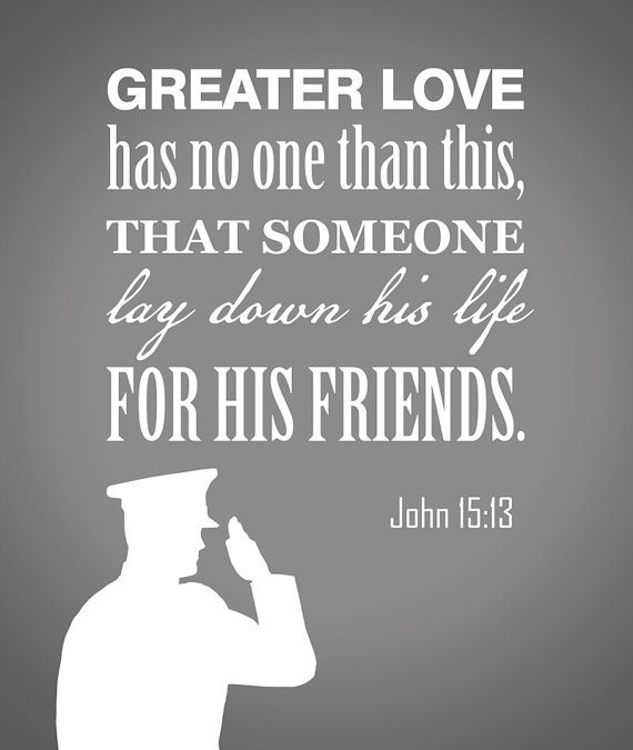 There is No Greater Love: A Memorial Day Tribute