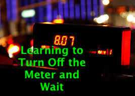 Learning to Turn off the Meter and Wait