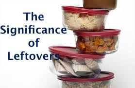 The Significance of Leftovers