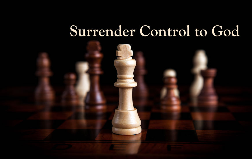 Surrender Control to God (Daniel)